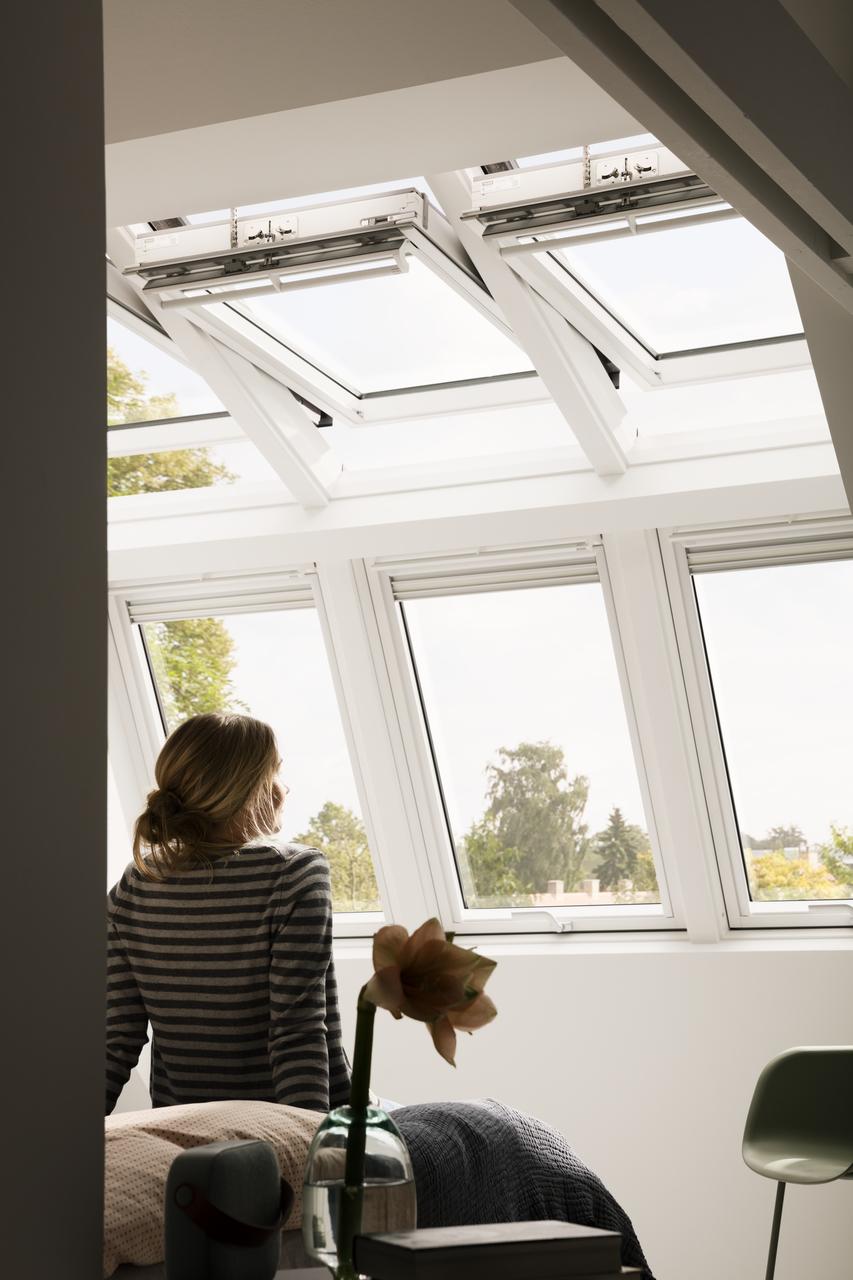 Finestre per tetti velux integra programmabili e for Finestre velux per tetti