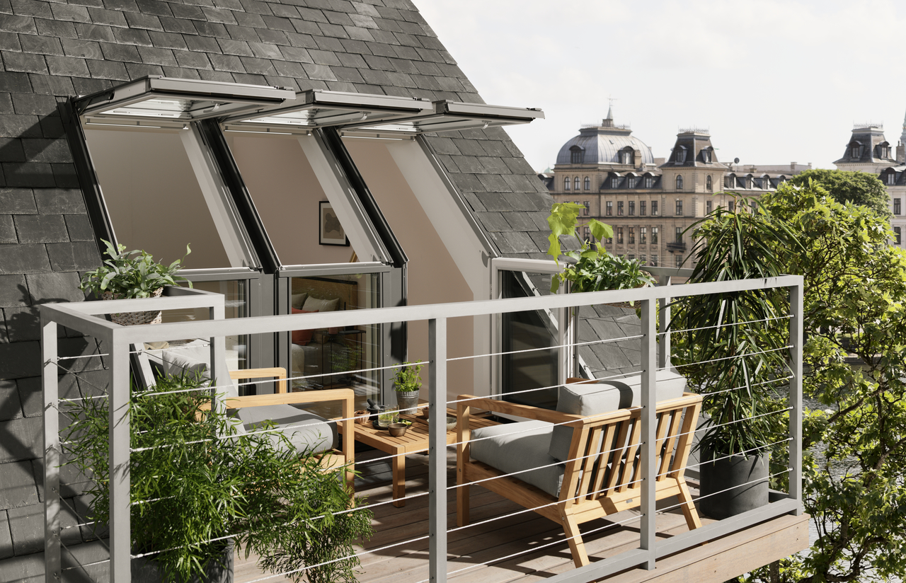 Charming Roof Terrace