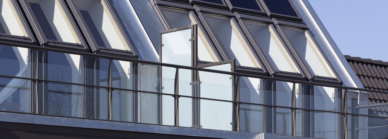 Balconata velux il balcone per pi spazio for Velux finestre balcone