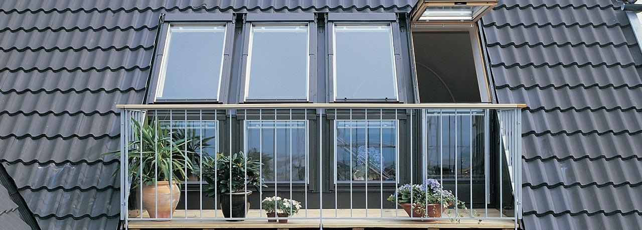 velux accès vers terrasse de toit  créez de l'espace et