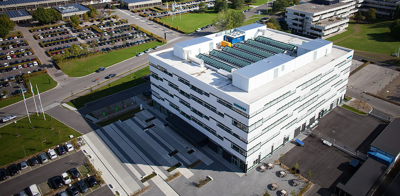 Velux Reference avec siemens head office in denmark - velux modular skylight cases