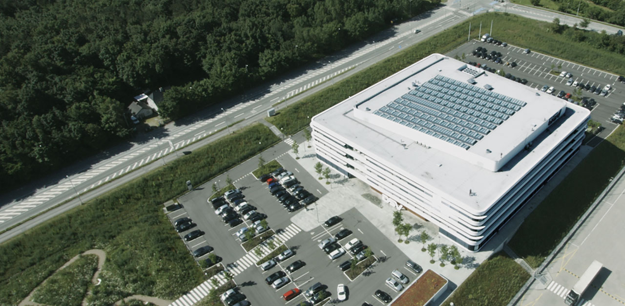 Velux Reference avec dsv headquarters in denmark - velux modular skylight cases