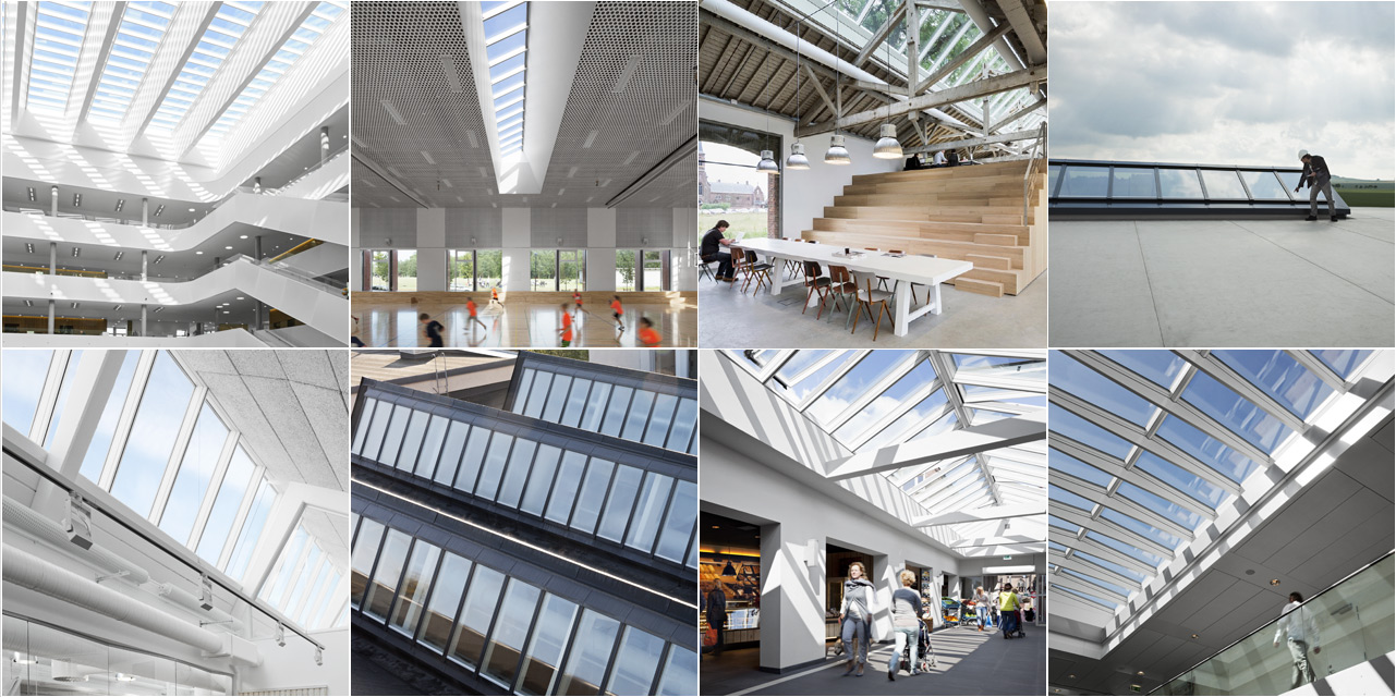 Superior Rooflights And Roof Glazing Building Solution Gallery