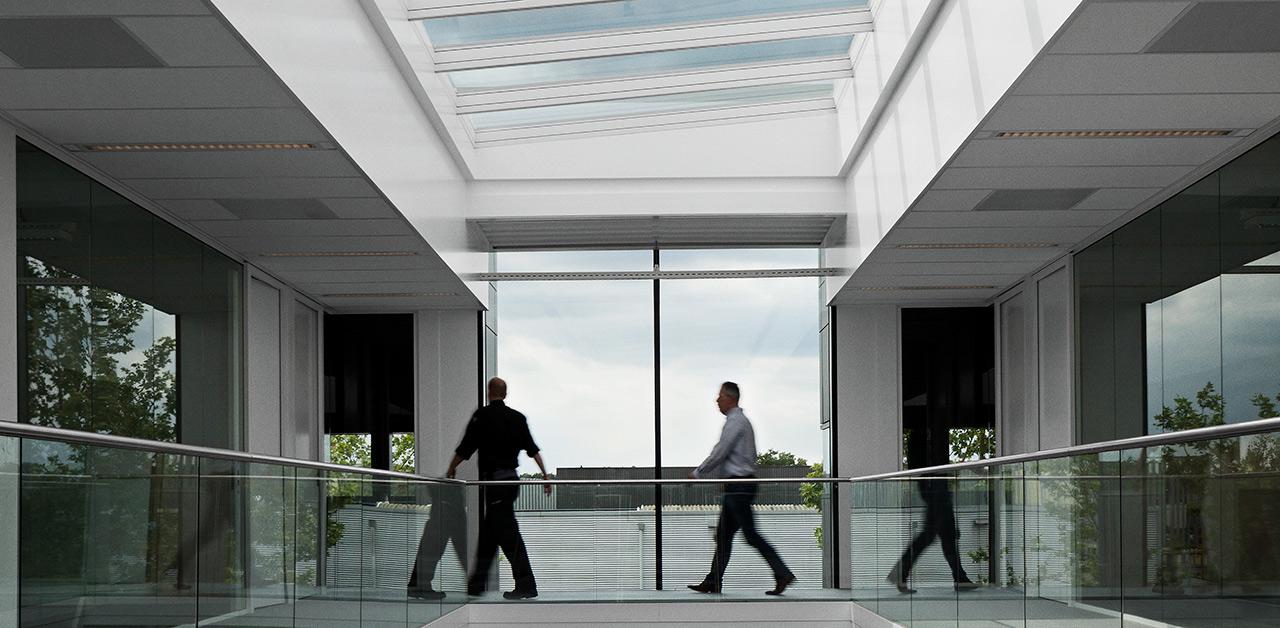 De Assenburg Shopping Mall - VELUX Modular Skylight cases