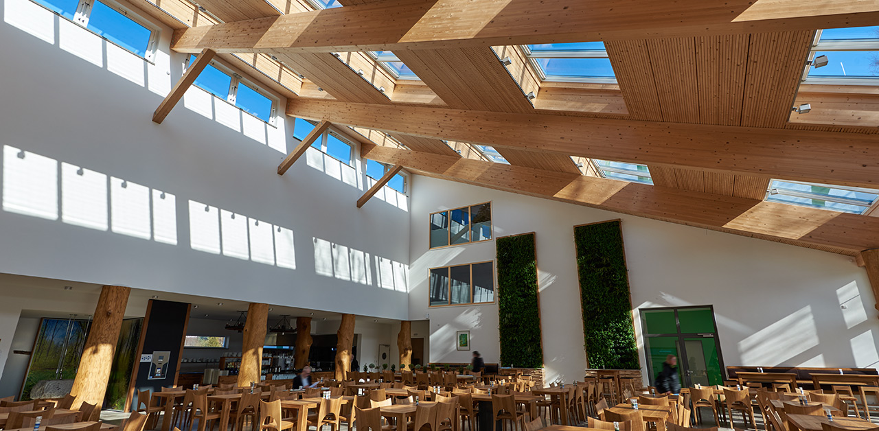 Velux Reference concernant de assenburg shopping mall - velux modular skylight cases