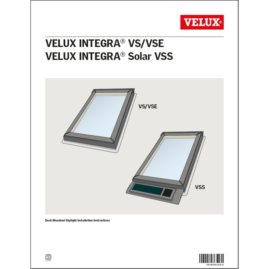 installation instructions velux rh velux co nz 3-Way Switch Wiring Diagram Doorbell Wiring