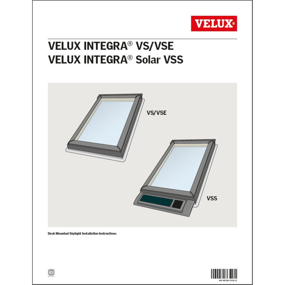 installation instructions velux rh velux co nz Doorbell Wiring Omega Alarm Wiring Diagrams