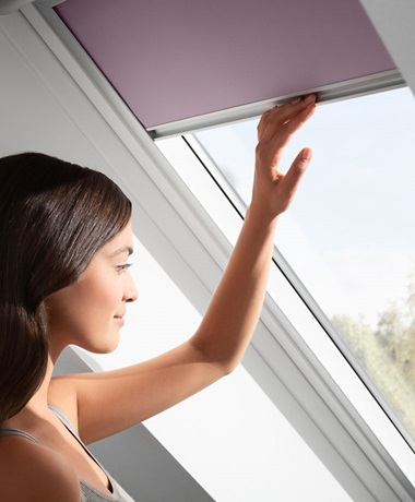 VELUX blackout blinds - get total light control anytime