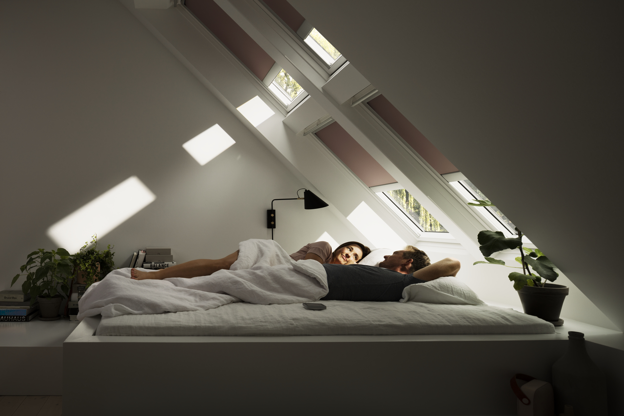 Velux Blackout Blinds Get Total Light Control Anytime