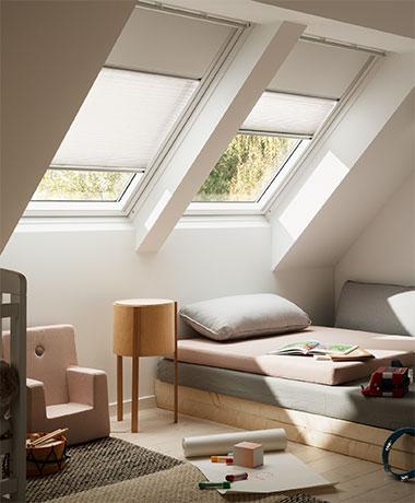 Dachfenster Plissee zur Verdunkelung | VELUX