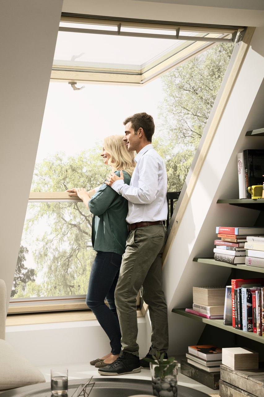 Velux Cabrio 174 Balcony From Roof Window To Balcony In Seconds