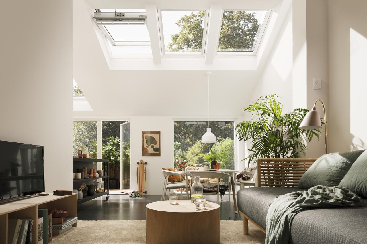 Finestre per tetti velux integra for Tapparelle per velux