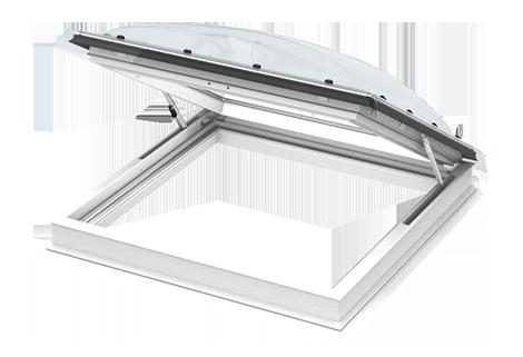 Fen tre coupole acc s toiture pour toit plat velux - Fenetre coupole pour toit plat ...