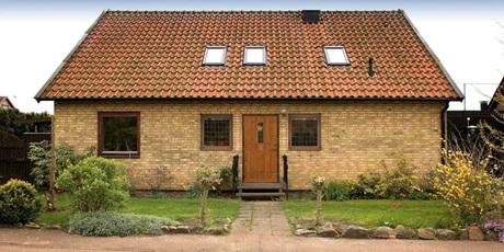 Villa med takfönster
