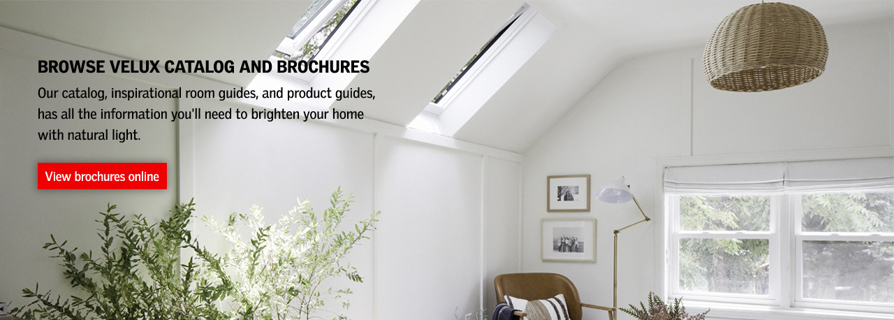 Browse VELUX catalog and brochures online now