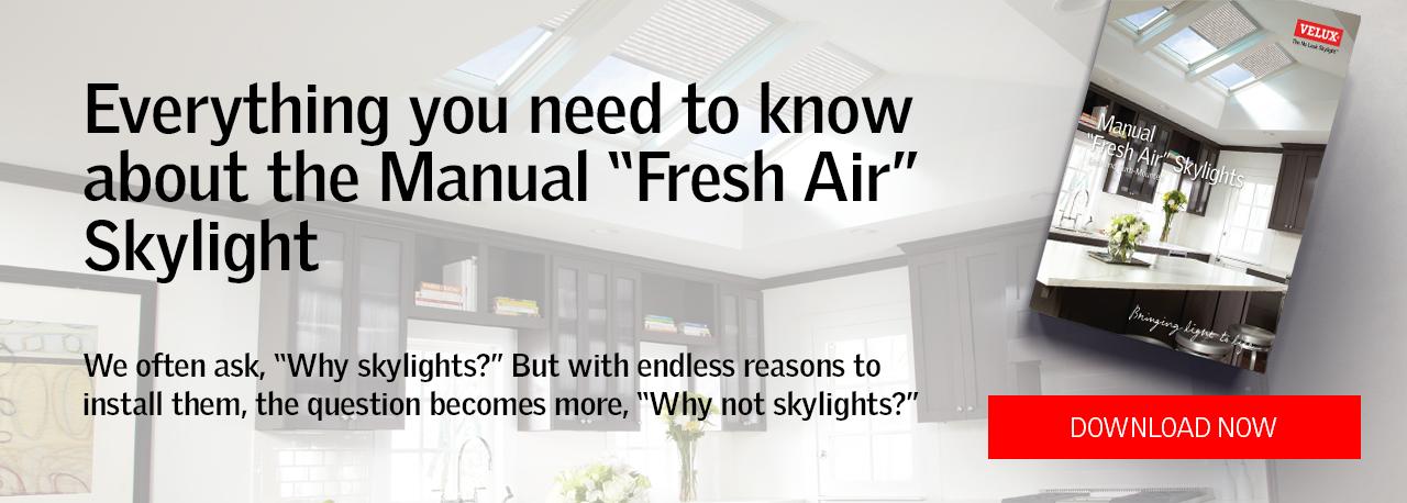 Manual Fresh Air Skylight Guide ebook