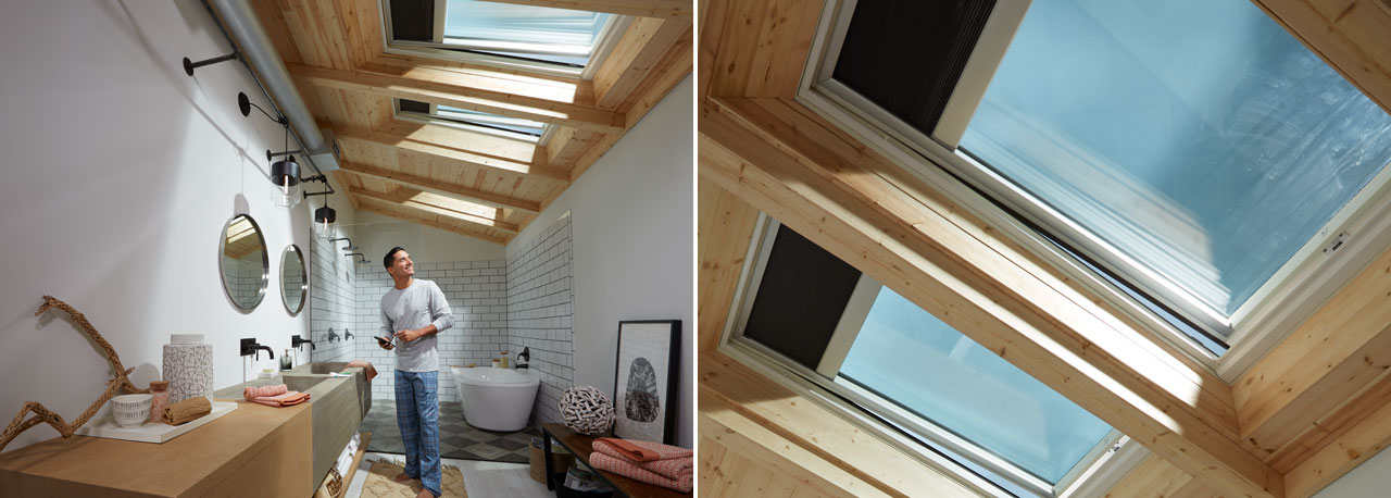 VELUX Solar Powered Fresh Air Skylight