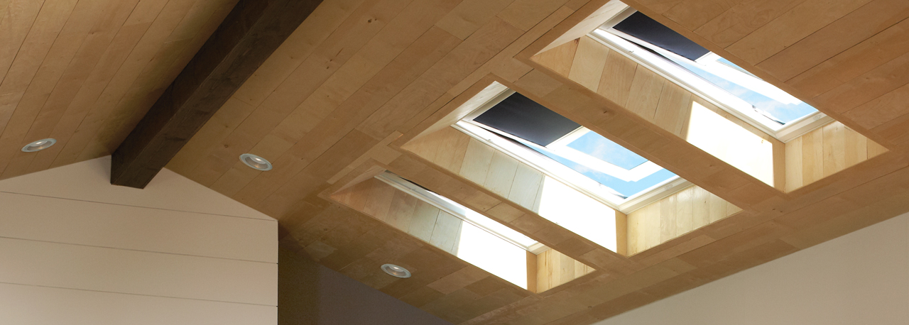 Velux skylight blinds factory installed special order for Sun tunnel blackout shade