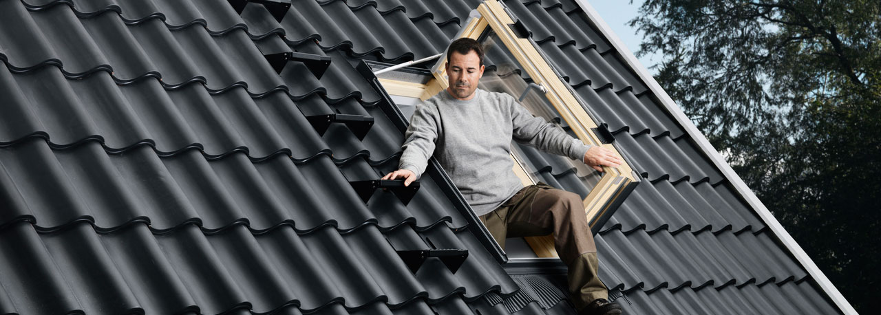Velux Roof Access Windows Deck Mounted