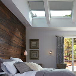Bedroom With VELUX Skylights