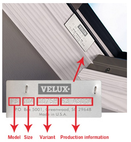 velux product id
