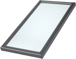 Fixed curb mount skylight