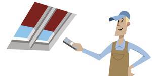 Velux solar powered venting skylight curb or deck for Velux solar blind battery