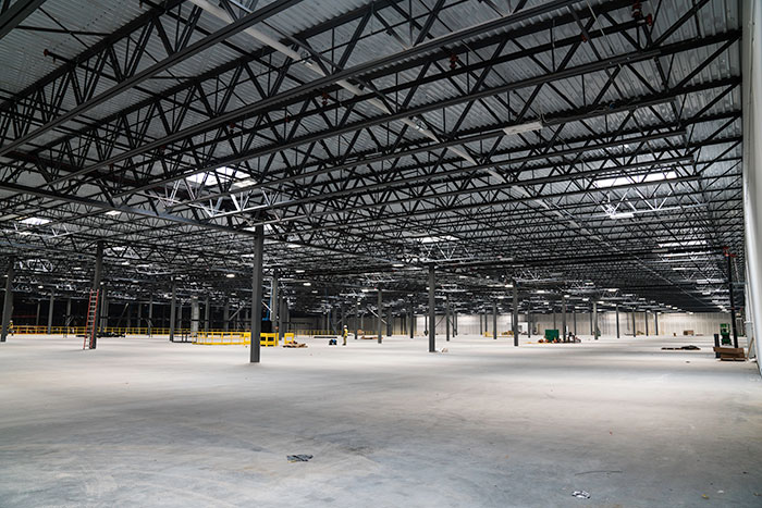 VELUX Dynamic Dome brightens Baltimore Distribution Center