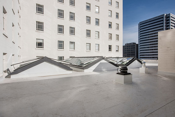 The new VELUX Modular Skylight at The Leamington Hotel