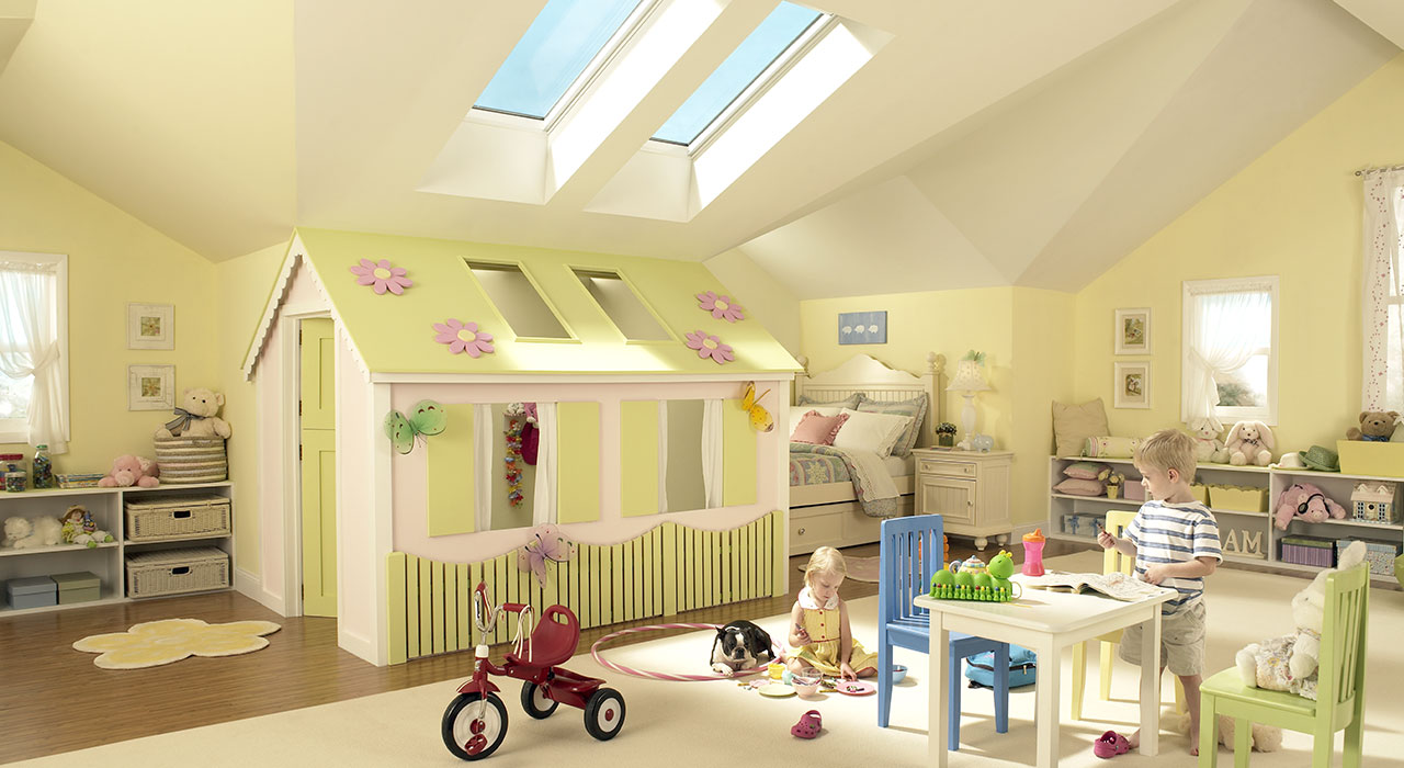 Velux Kids Room Inspiration Gallery