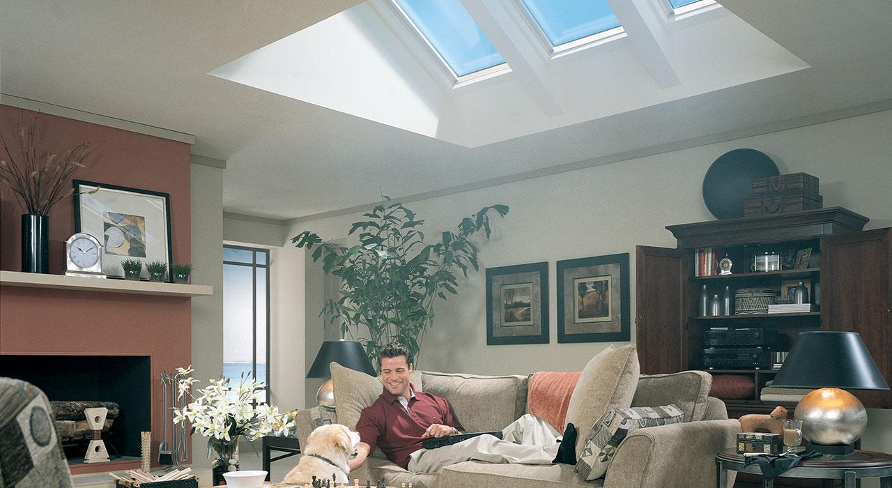 Velux Living Room Inspiration Gallery