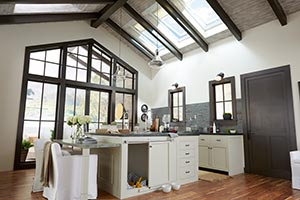 darkwood bay kitchen skylights