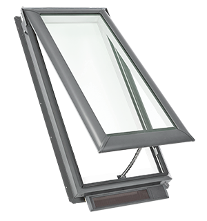 VELUX Solar Powered Fresh Air Skylight - Deck Mounted