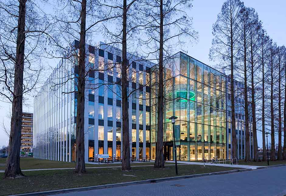 Genmab building, The Netherlands