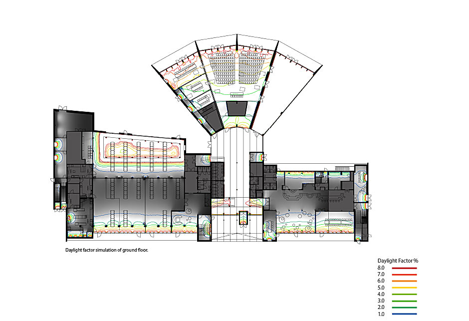 Architectural drawing - Green solution house