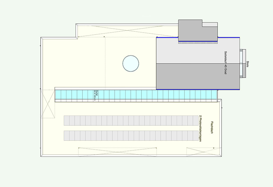 Architectural drawings Kirche Erkelenz - roof