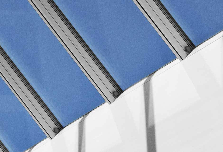 Rooflight solution with Ridgelight 25-45˚ modules, Siemens, Ballerup, Denmark