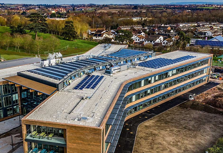 Two hundred modules of VELUX Modular Skylights in UK Hydrographic Office